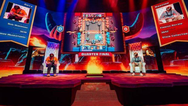 Anche in Clash Royale non si bada a spese per le arene eSports