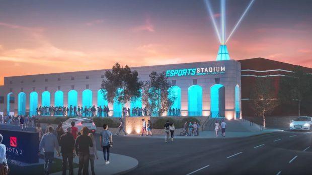 Ad Arlington, in Texas, in autunno sarà inaugurato il più grande stadio degli Stati Uniti dedicato agli eSports.