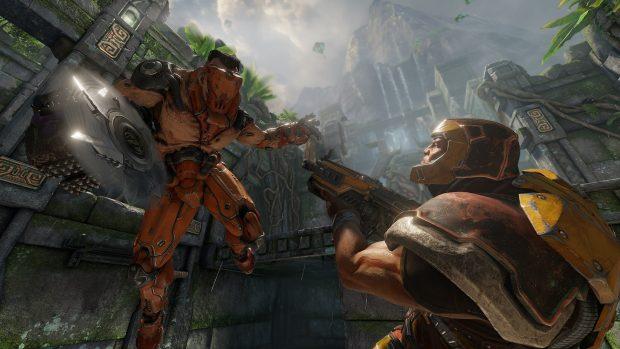 Un'immagine di Quake Champions.