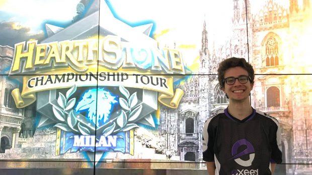 """Marco """"Turna"""" Castiglioni si è appena qualificato per il Seasonal Championship di Hearthstone di Los Angeles."""