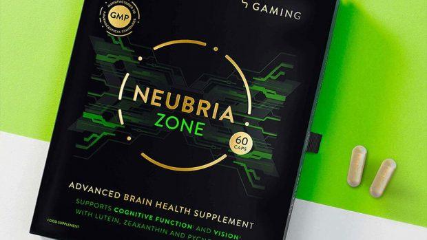 Neubria Zona è un cocktail vitaminico specificamente dedicato ai videogiocatori