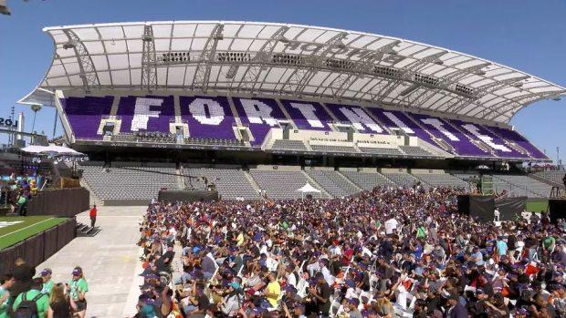 Il Bank of California Stadium ha ospitato l'evento: tutto esaurito