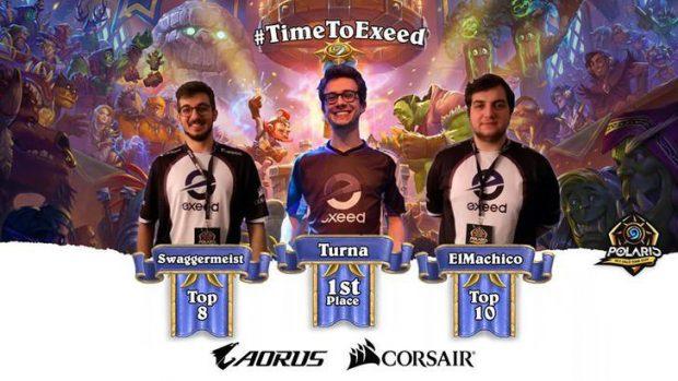Ben 3 componenti del Team Exeed nella Top 16 del Dreamhack di Oslo, vinto da Turna. Non era mai capitato di avere tanti italiani in posizioni così alte ad un torneo internazionale di Hearthstone.