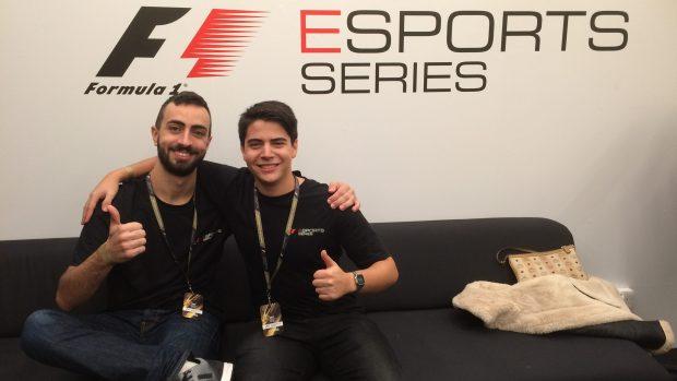 Gianfranco Giglioli (a destra) è un veterano della competizione: anche l'anno scorso aveva ben figurato. Qui con Tiziano Brioni (a sinistra)