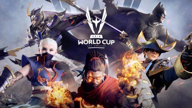 Le fasi finali dei playoff di Arena of Valor, il videogame più giocato al mondo, la cui proprietà è del colosso cinese Tencent.