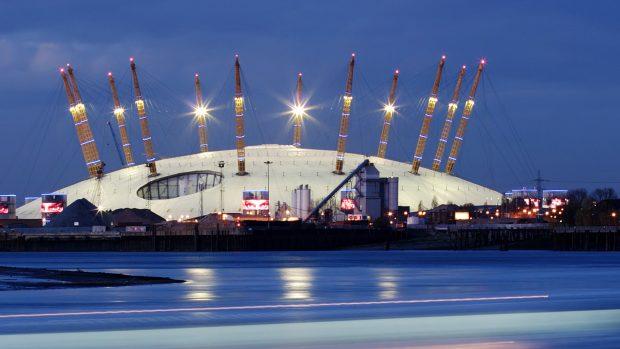 La O2 Arena è una delle strutture più famose e ambite di Londra.