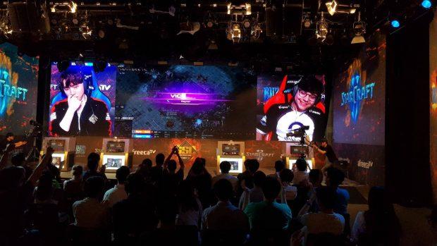 I tornei in Corea sono spettacoli televisivi di alto livello: le grafiche sono molto spettacolari.