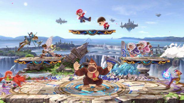 Super Smash Bros. Ultimate includerà tutti i personaggi mai visti nella serie.