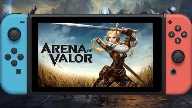 Arena of Valor sta per arrivare su Switch.
