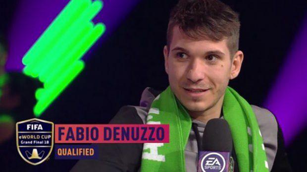 Tra i candidati dalla vittoria c'è stato anche l'italiano Fabio Denuzzo, che ha ricevuto un trofeo per il miglior gol della competizione.