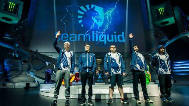 I Team Liquid, i detentori del titolo 2017.