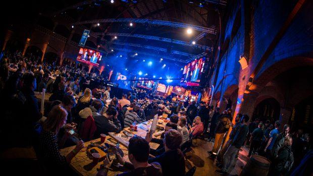 Il pubblico durante le finali dell'HCT World Championship ad Amsterdam.