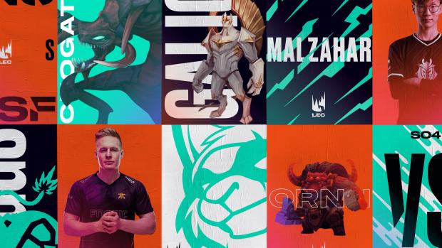 Per la nuova forma Riot Games ha lavorato con DesignStudio per realizzare nuovi loghi.