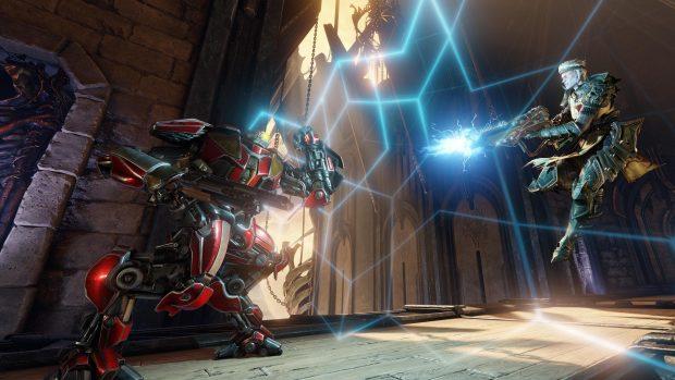 Quake champions riscrive il genere degli FPS arena dando ad ogni personaggio abilità peculiari.