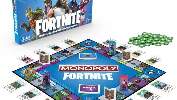Monopoly e Fortnite: l'accoppiata più imprevedibile di questo Natale?