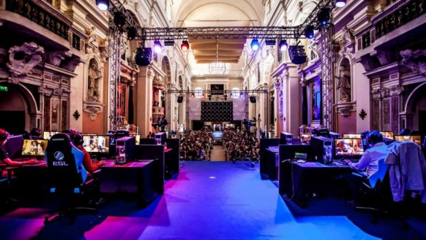 L'eSport Cathedral di Lucca, uno dei più importanti appuntamenti dedicati al gaming in Italia.