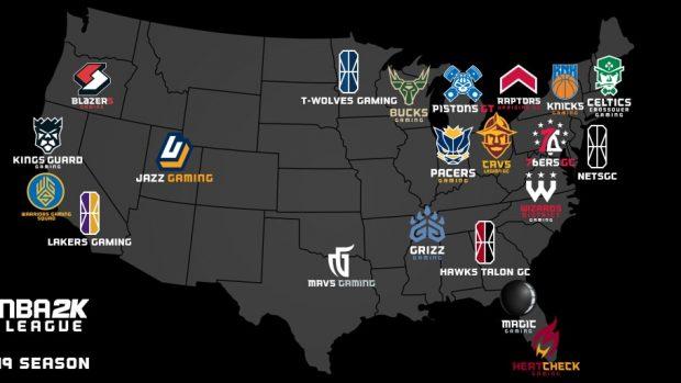 All'NBA 2K League 2019 parteciperanno anche Atlanta, Brooklyn, Minnesota e Los Angeles facendo salire il totale delle squadre a 21.