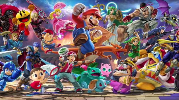 Super Smash Bros. è un gioco di combattimenti che vede coinvolti tutti i protagonisti dell'immaginario di Nintendo.