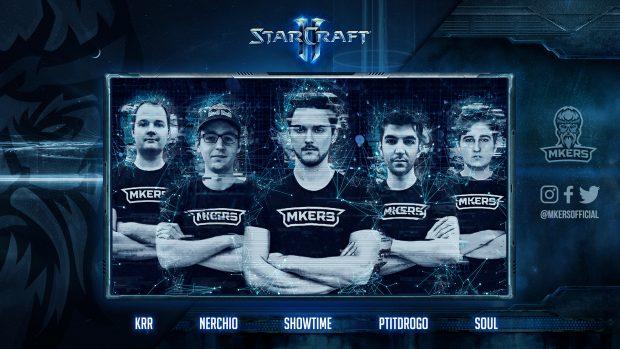 Ecco il team dei Mkers che competerà a StarCraft II.