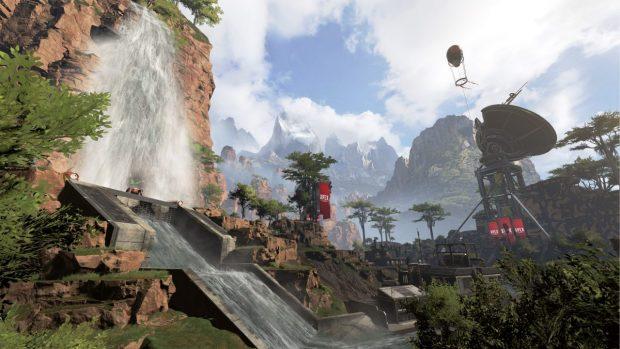 La mappa di Apex Legends è ampia e ottimamente strutturata per scontri frenetici.