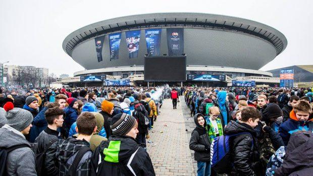 La Spodek Arena di Katowice ospita 12.000 appassionati, ma sono circa centomila i ragazzi a riversarsi nella cittadina di Katowice durante gli IEM.