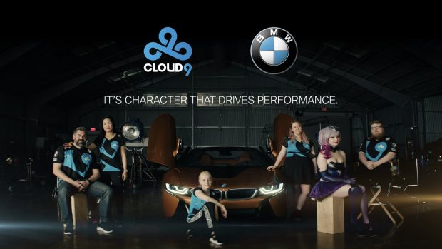 Gli atleti di Cloud9 hanno già girato alcuni spot per BMW.