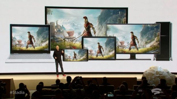 Phil Harrison di Google ha annunciato Stadia alla GDC di San Francisco.