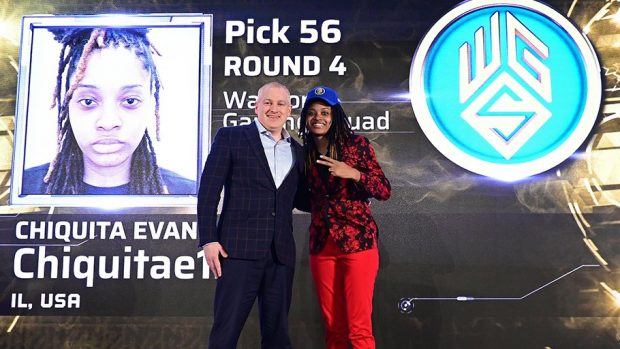 Chiquita Evans è la prima donna a partecipare alla 2K League.
