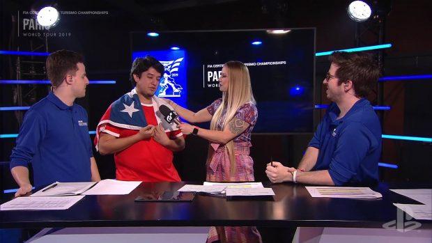 L'emozione di Nicolàs Rubilar nelle interviste a fine gara. Commovente anche la cerimonia del podio con le lacrime durante l'inno nazionale cileno.