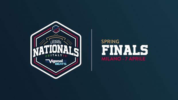 Il logo del PG Nationals Vigorsol Beats 2019 Spring Split.