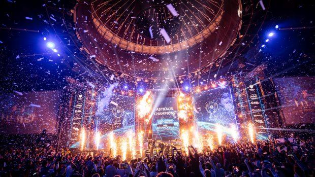 Le scenografie e lo spettacolo in generale offerti dagli Intel Extreme Masters sono stati di prim'ordine.