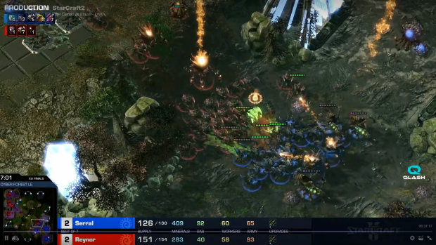 Zerg vs Zerg al meglio delle cinque mappe: tra Italia e Finlandia il match è stato intenso.