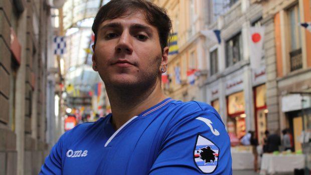 """Mattia """"Lonewolf92"""" Guarracino è stato il primo atleta di eSports della Sampdoria."""