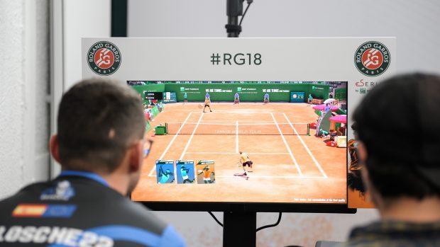 Il torneo si disputa, anche quest'anno, su Tennis World Tour di Bigben Interactive.