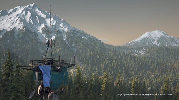 Il gioco è ambientato in Oregon e offre visuali davvero incantevoli, come questa.