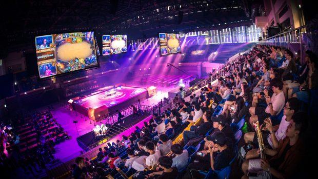 La finale dell'Hearthstone Championship Tour si è tenuta al Taipei Heping Basketball Stadium.