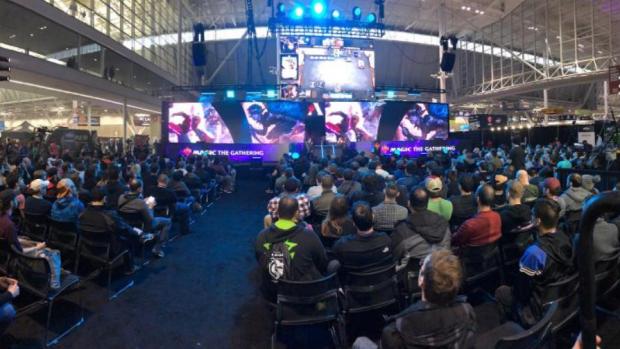 Il palco del PAX di Boston per il Mythic Invitational.